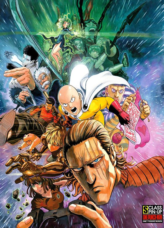 One-Punch Man Cover 1