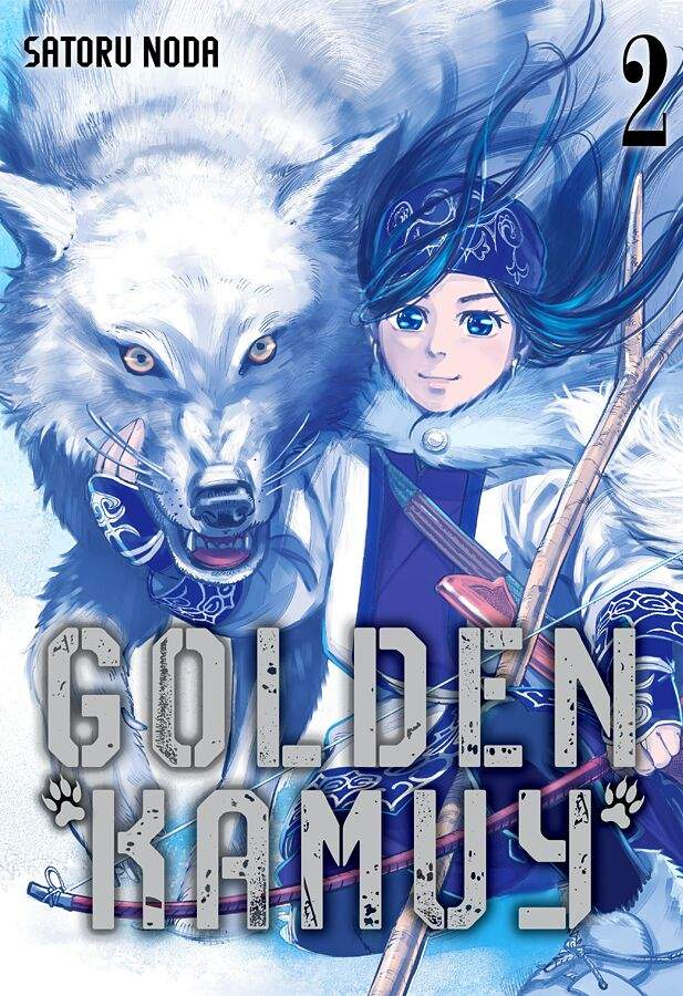 Gold Kamuy Volume 2 Cover