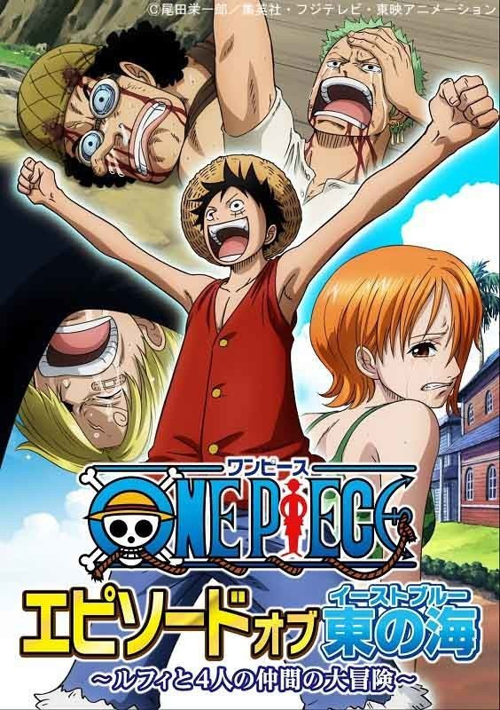 "One Piece ""Episode of East Blue"" Poster"