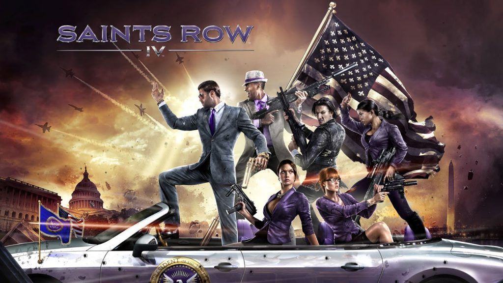 Saints Row IV Game Giveaway