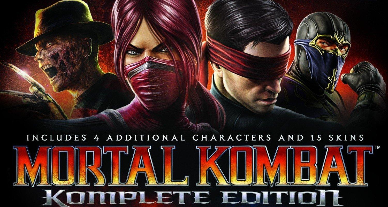 Mortal Kombat Komplete Edition Game Giveaway