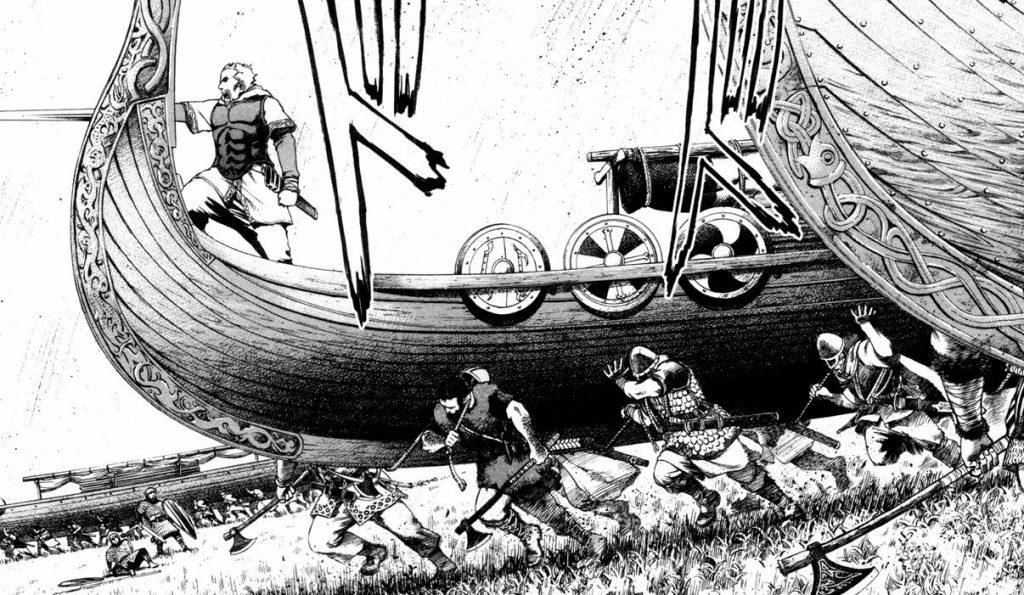 Vinland saga: Pirating, raiding and pillaging
