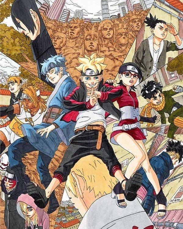 Boruto: Naruto next generation spalsh page