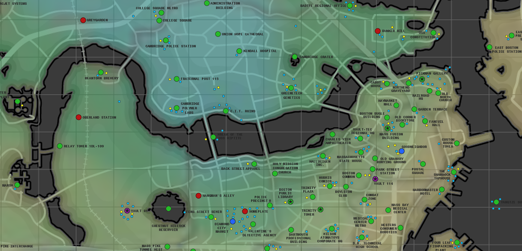 Fallout 4 map locations