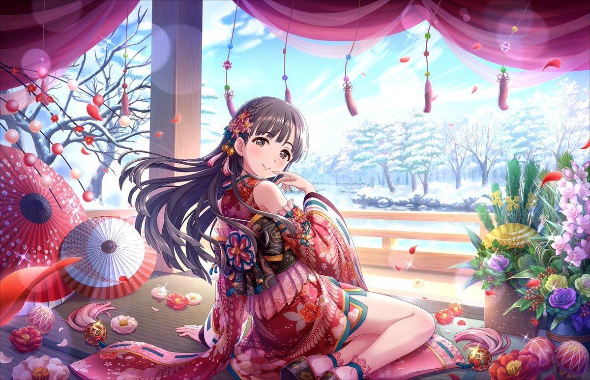 Sae Kobayakawa FromThe iDOLM@STER Cinderella Girls