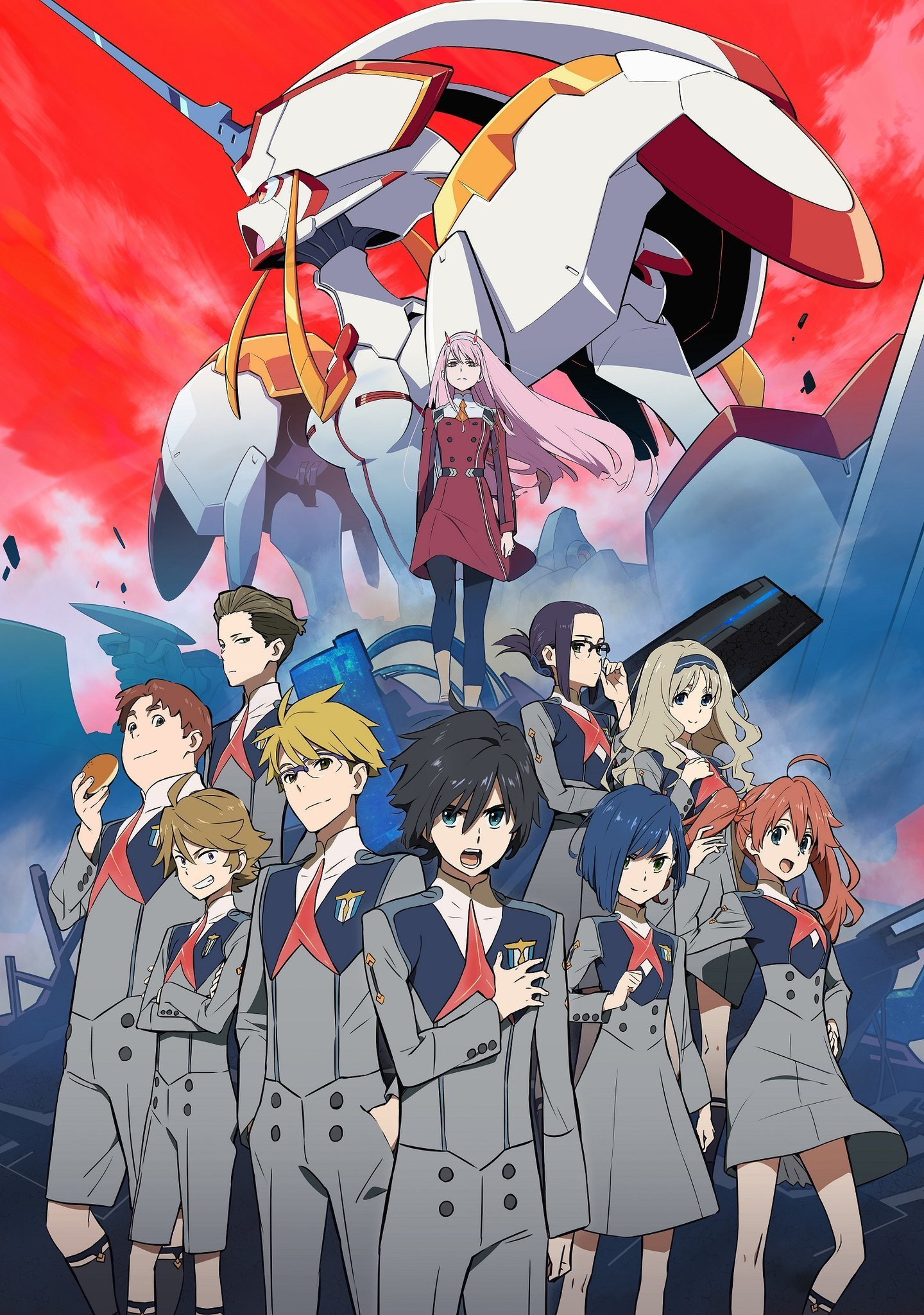 Darling in the FranXX Visual