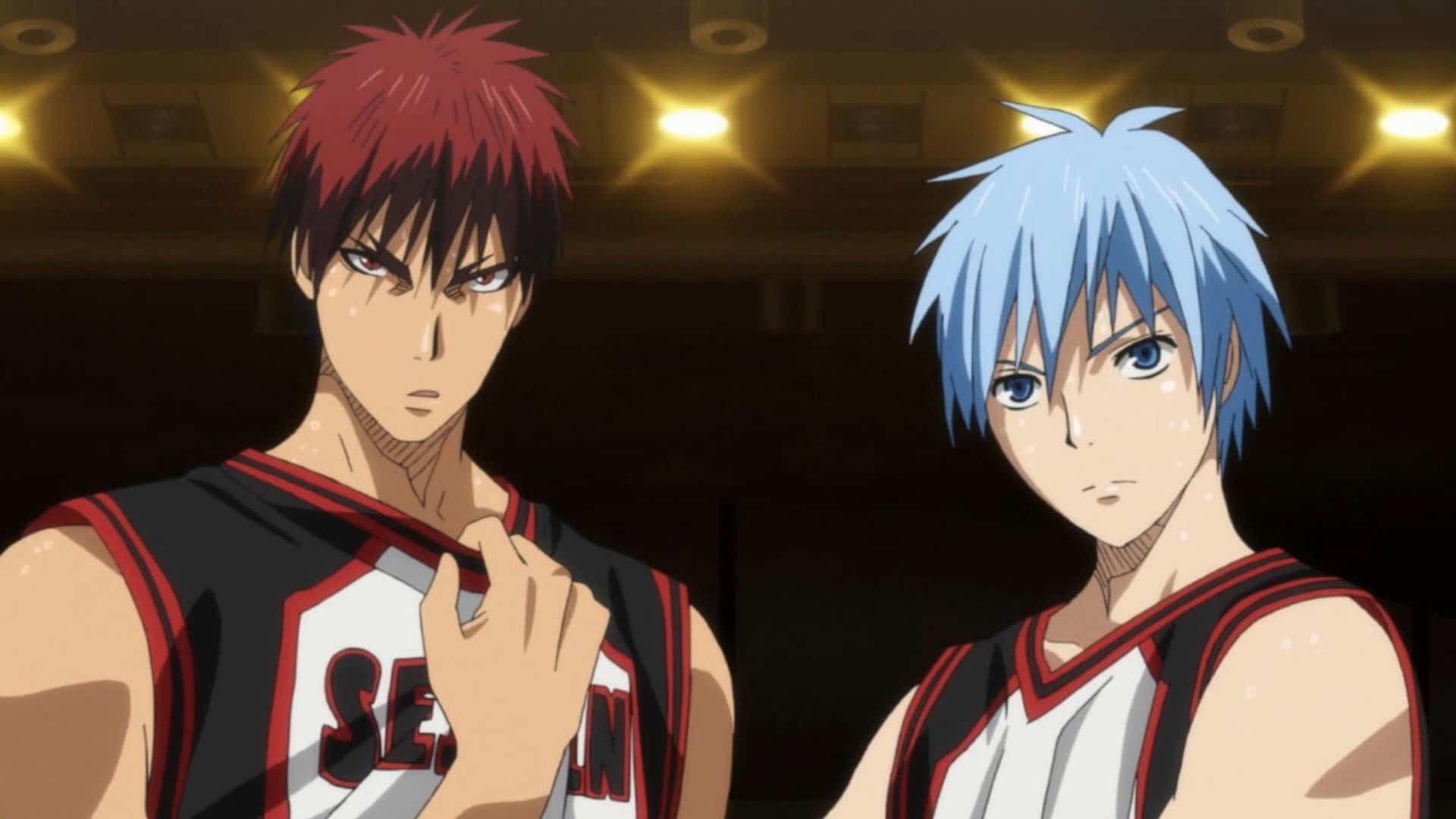 Kuroko no basket - Kagami and Kuroko • Thebiem