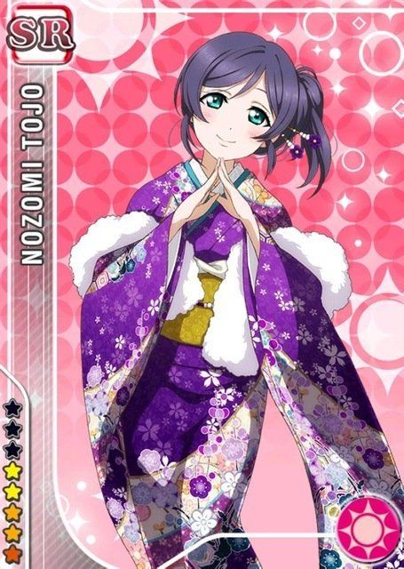 Nozomi Toujou - Anime Characters That Look Good In A Kimono
