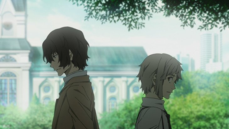 Bungo Stray Dogs DEAD APPLE Cut Scene