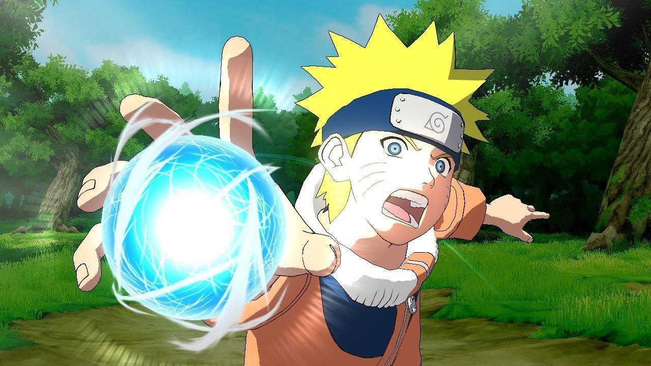 Naruto Ultimate Ninja Storm Trilogy - Naruto Rasengan