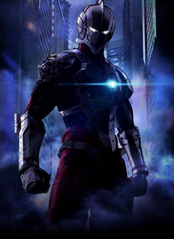 Ultraman new key visual