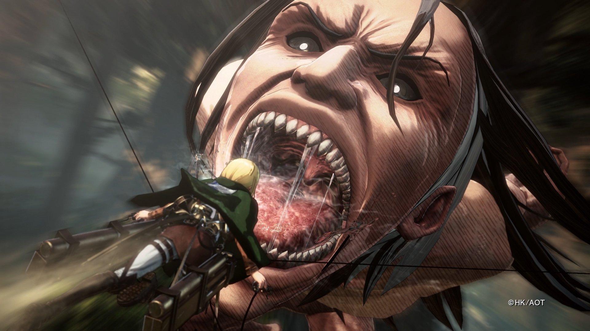 Attack on Titan 2 game-play - titan