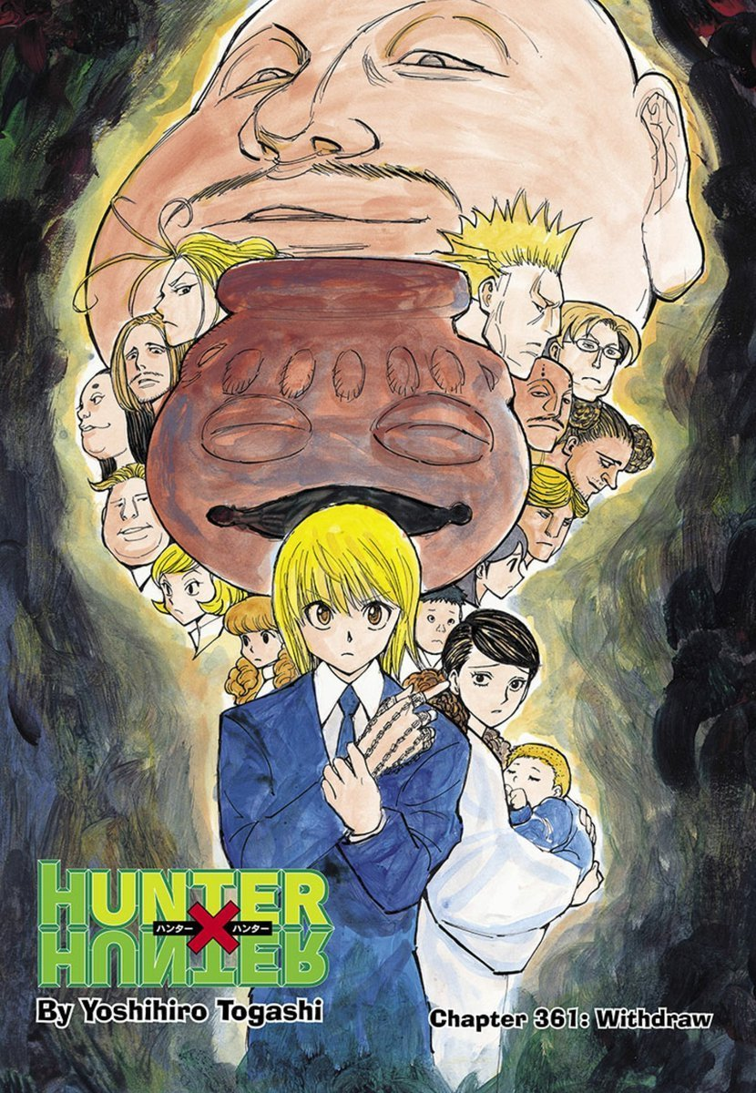 Hunter X Hunter Color Page