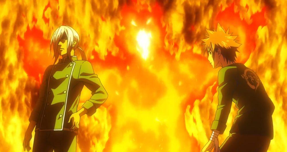 Shokugeki no Souma season 4 episode 4 - Hayama vs Yukihira battle