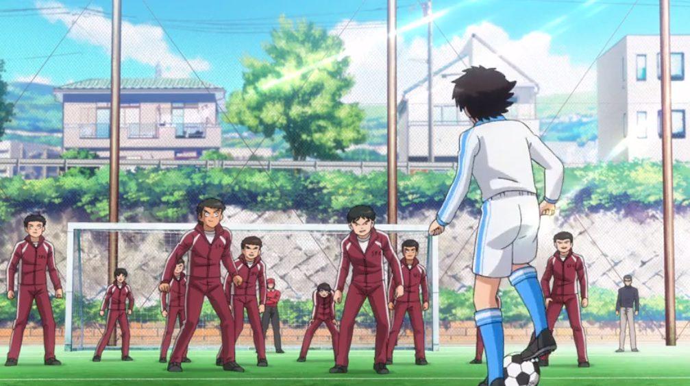 Captain Tsubasa Episode 2 - Tsubasa vs Wakabayashi
