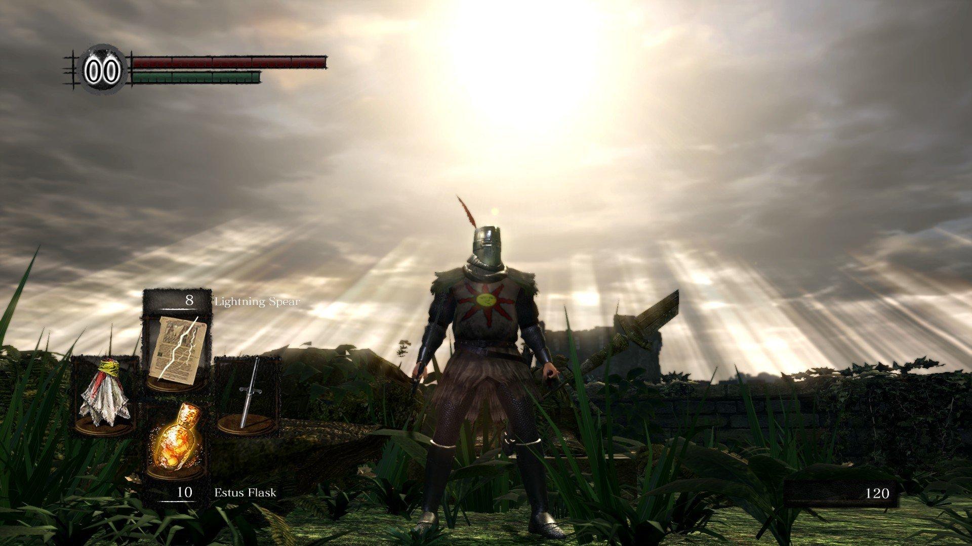 Warrior of Sunlight dark souls remastered network test