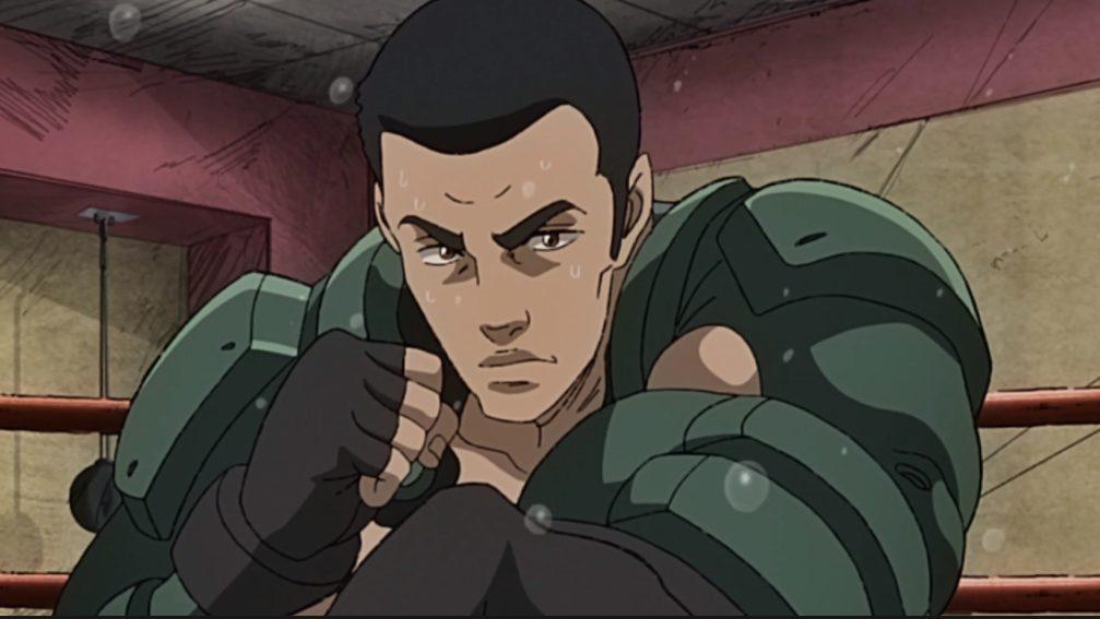 Aragaki in Megalo Box episode 6