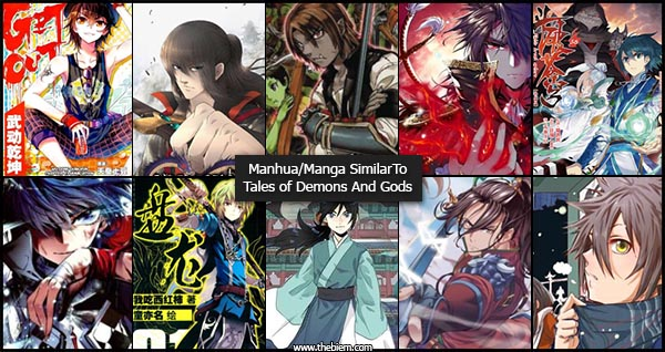 Manga-Manhua Similar to Tales of Demons and Gods
