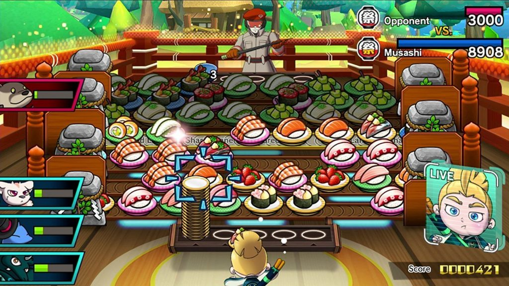 Sushi Striker demo