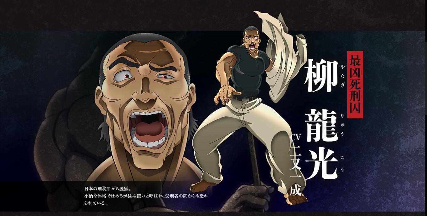 Ryuukou Yanagi Character Visual