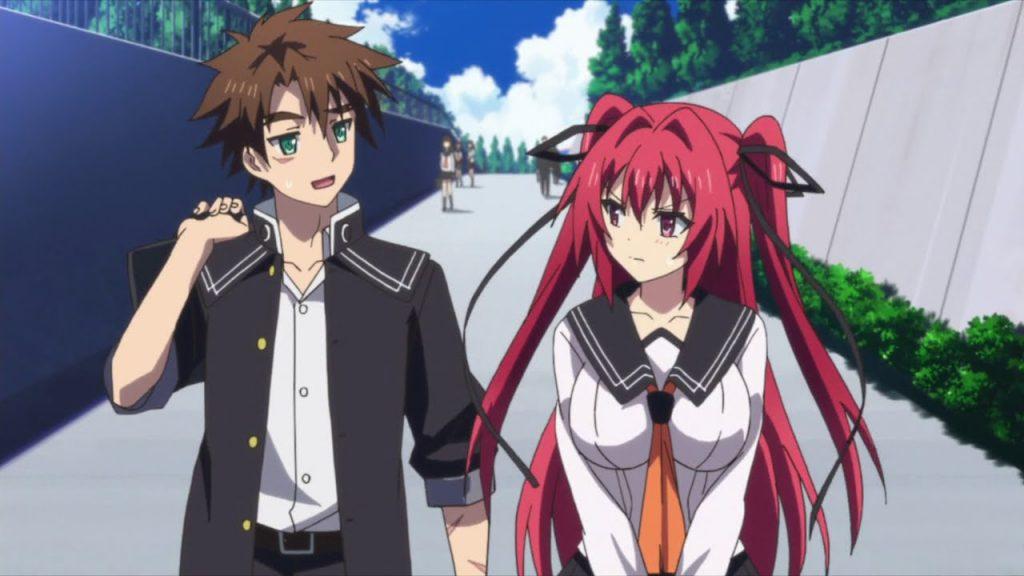 Anime similar to high school DxD