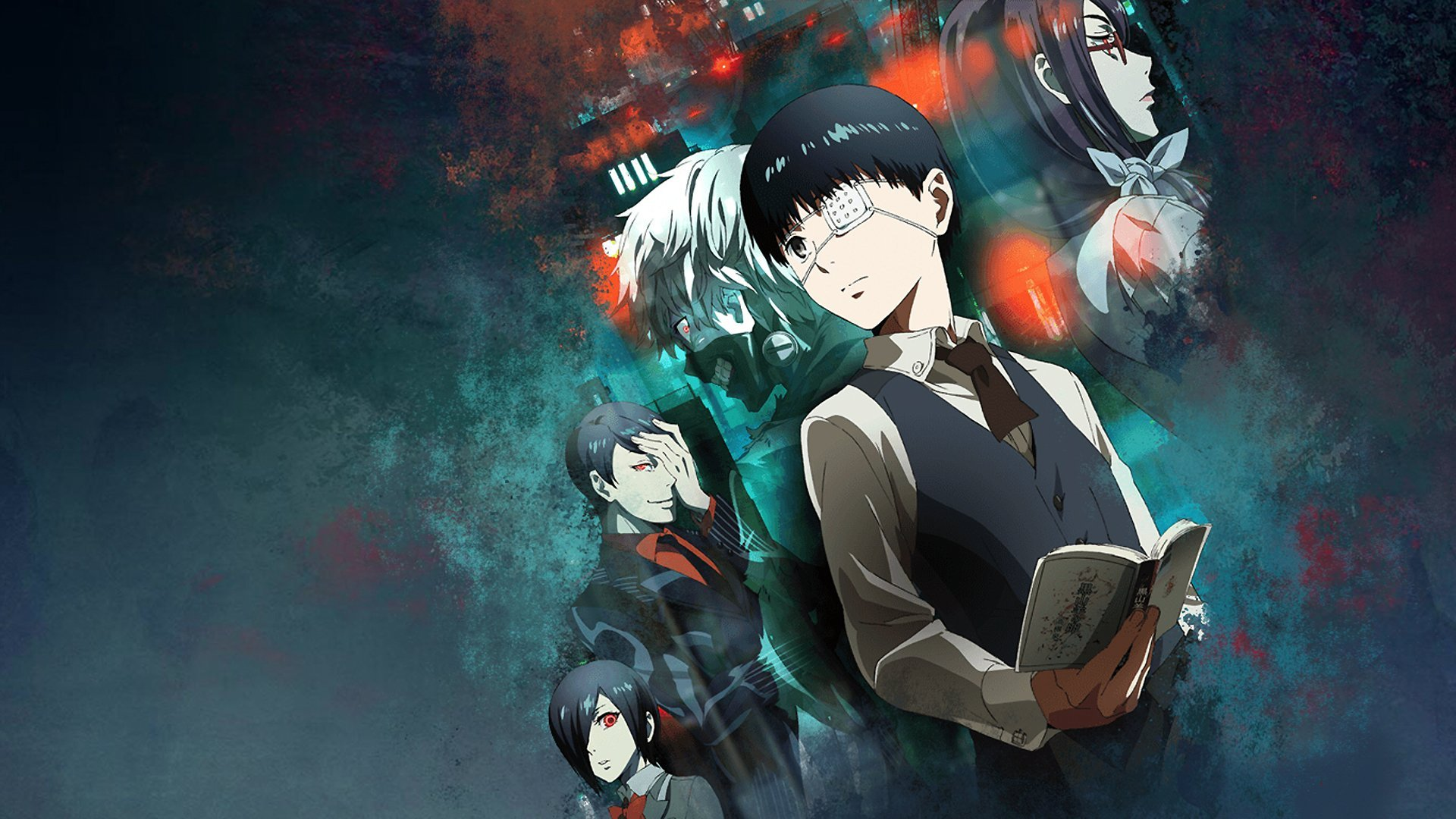 Top 10 short anime - Tokyo Ghoul