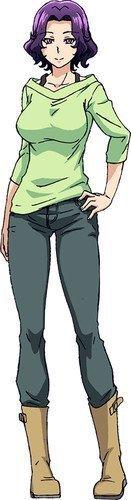 Azusa Hamaoka voiced by Toa Yukinari