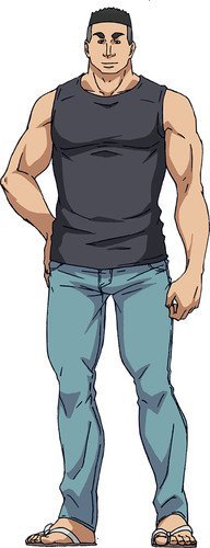 Shinji Tokita voiced by Hiroki Yasumoto