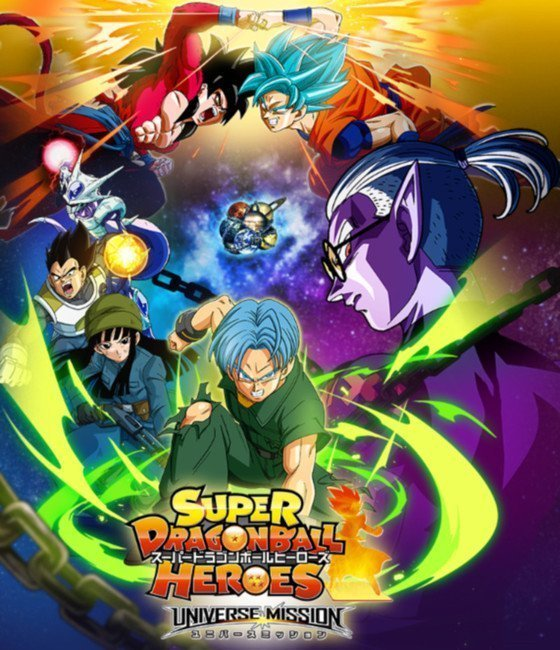 Super Dragon Ball Heroes Reveals PV Trailer