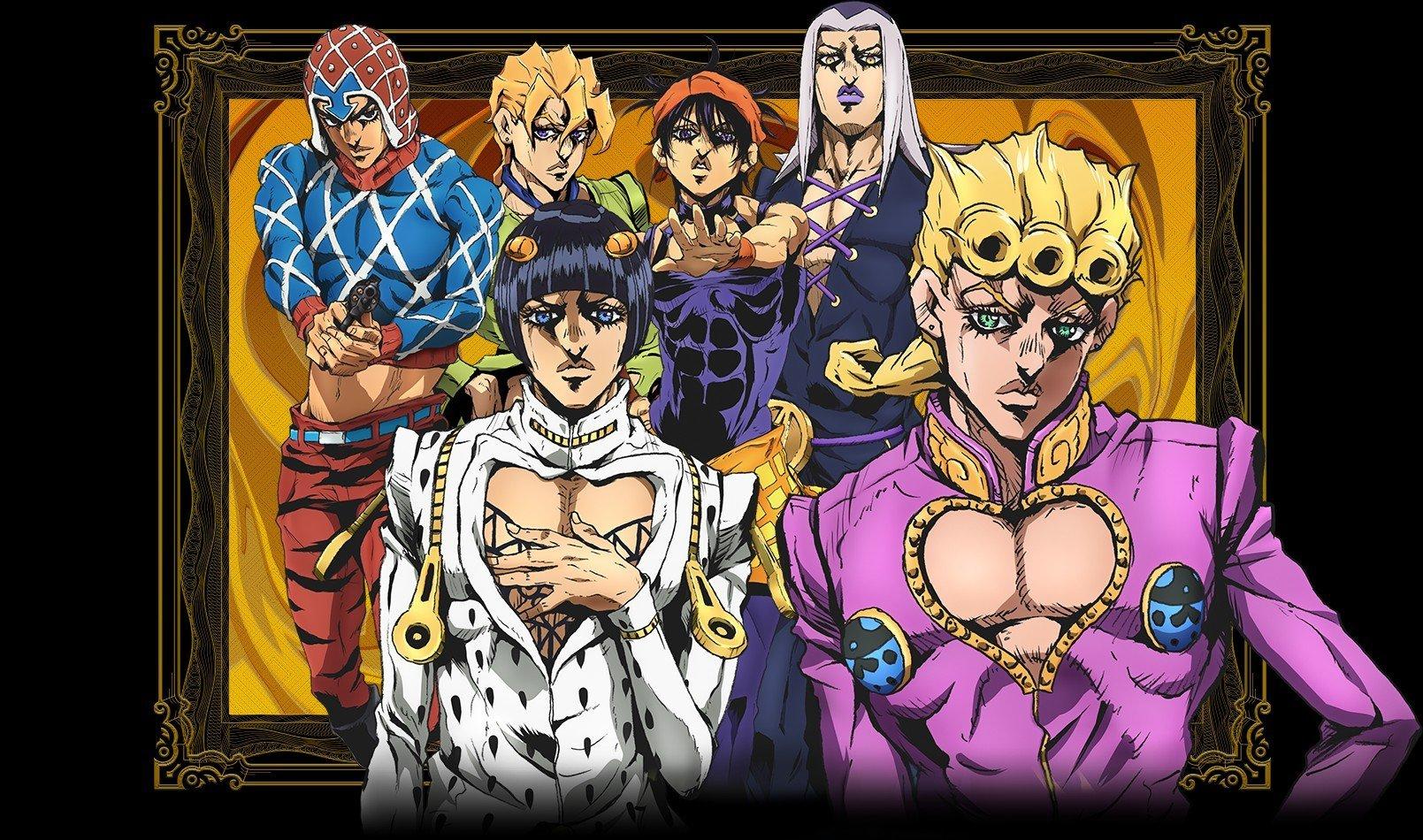 Jojos Bizarre Adventure Part 5Vento Aureo Receives Anime