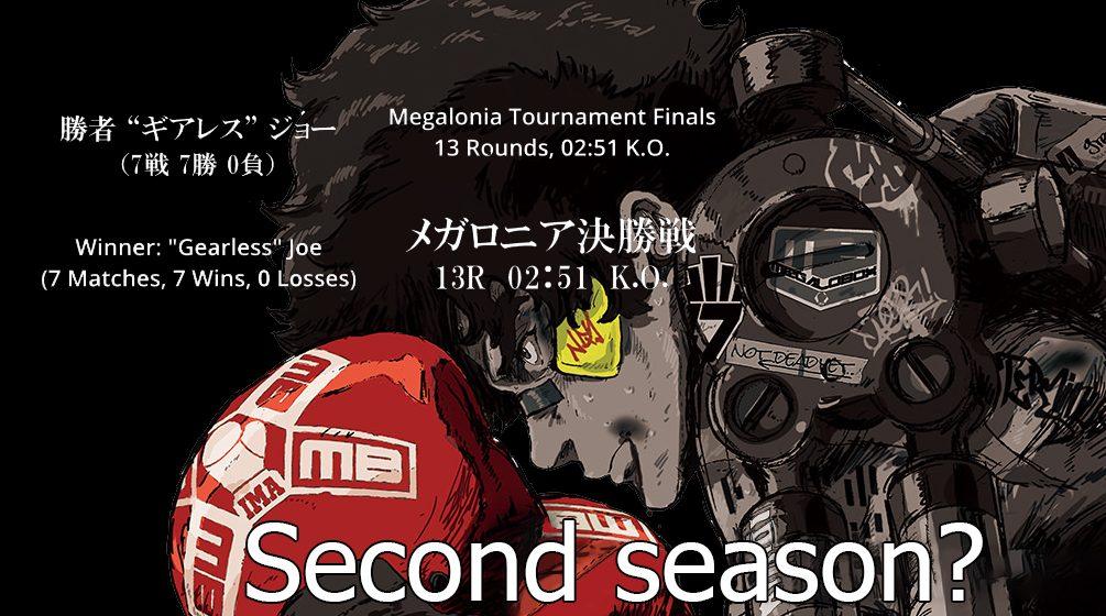 Megalo Box season 2