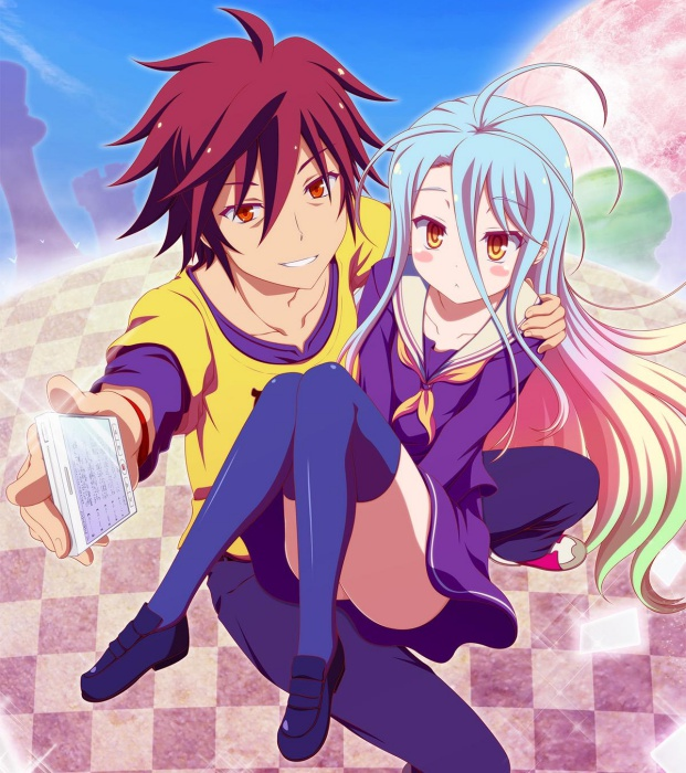 mind game anime - no game no life