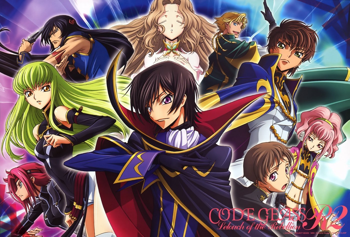 code geass - number one mind game anime