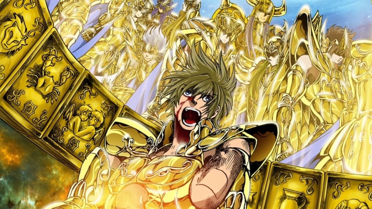 Saint Seiya - The Lost Canvas Manga Review (Contains