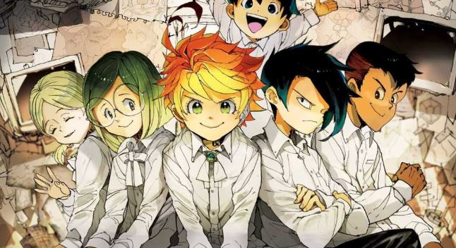 Promised Neverland - Best Mind game anime