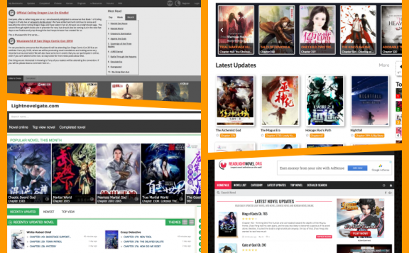 Websites to Read English Translated Chinese Light Novels