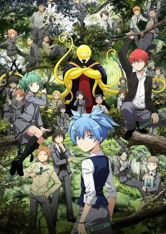 Assassination Classroom - anime similar to My Hero Academia