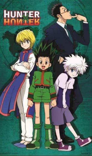 Hunter x Hunter - anime similar to my hero academia