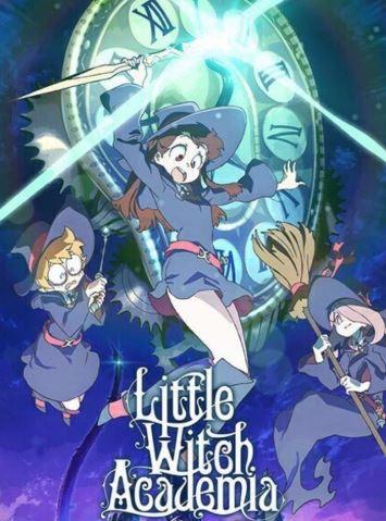 Little Witch Academia - anime similar to My Hero Academia