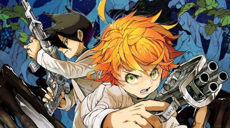 Promised Neverland - Best seinen/adult anime series 2020