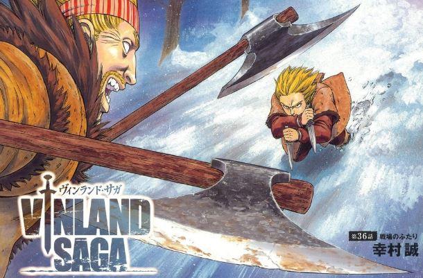 Vinland Saga - Best Seinen/Adult anime series