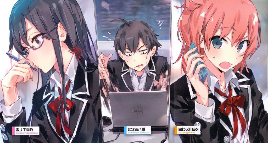 Yahari Ore no Seishun Love Comedy wa Machigatteiru - romance comedy anime