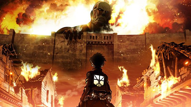 attack on titan - best war anime