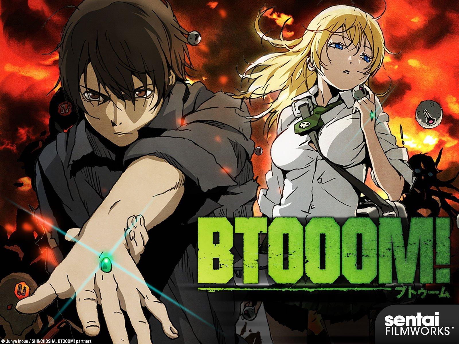 BTOOM! - Adult anime series