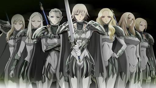 Claymore - Adult anime series