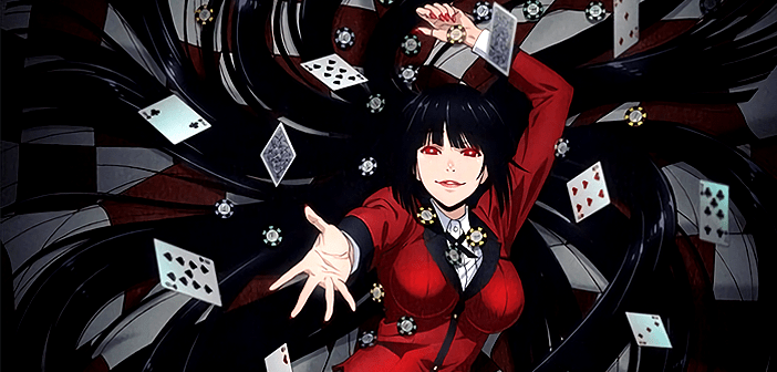 kakegurui - best anime on netflix