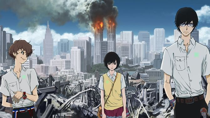 Zankyou no Terror - Adult anime series