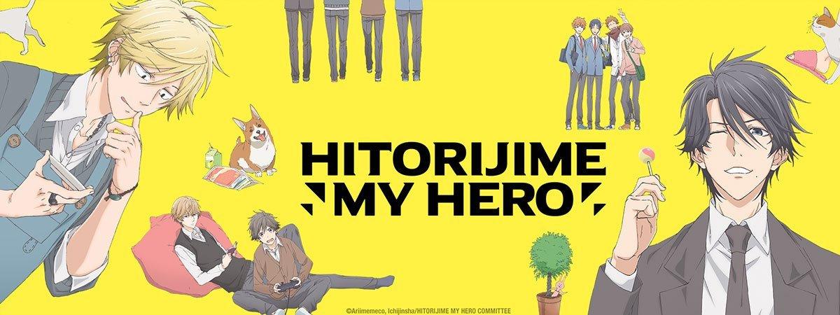 Hitorijime my hero - gay anime series