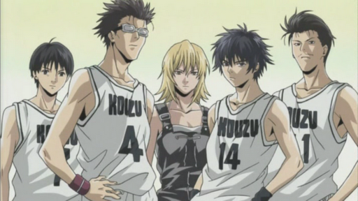basketball anime - I'll/CKBC