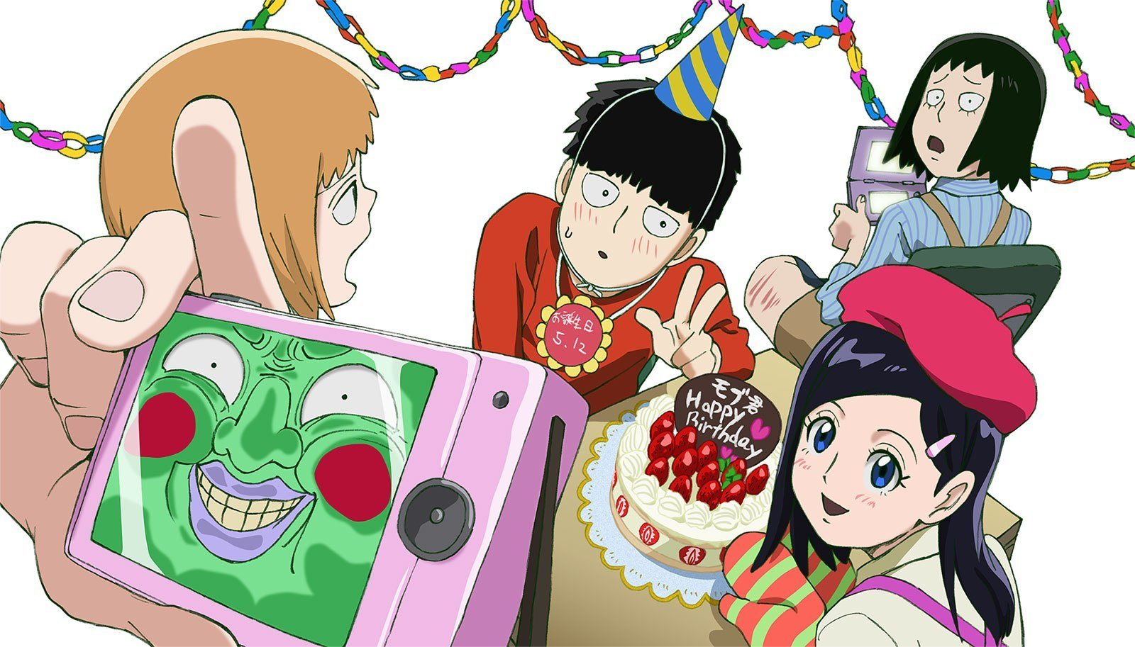Mob Psycho 100 II Winter 2019 anime